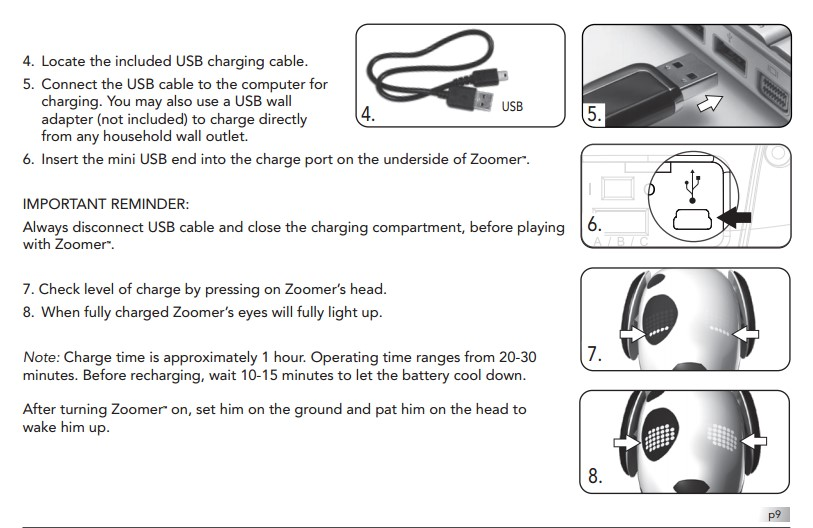 Zoomer Instruction Manual – Instruction Manual